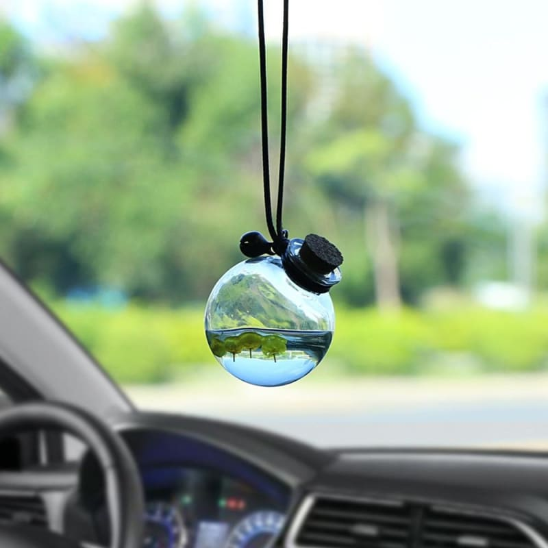 Pendant Glass Car Perfume - Car Pendant Glass Perfume