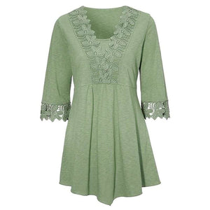 Peplum Tops Just for you - Green / S - Blouses & Shirts