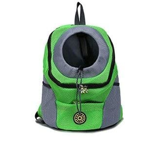 Pet Carrier Backpack - Green / 30x34x16 cm - Dog Carriers