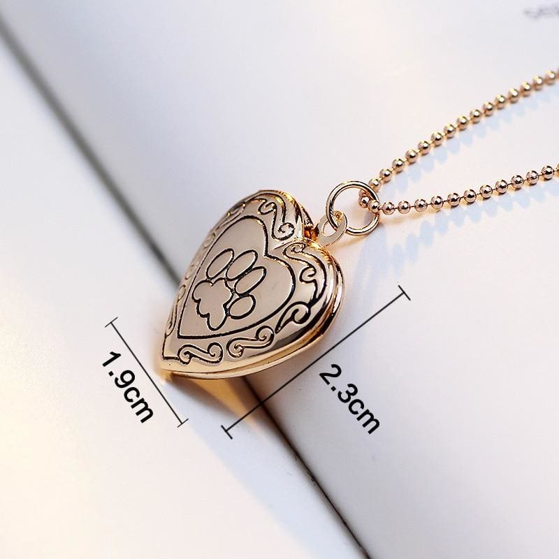 Photo Frame Memory Locket - Pendant Necklaces