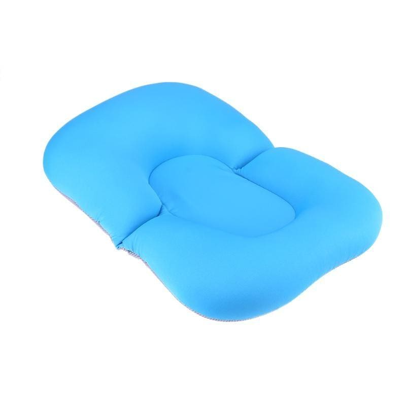 Portable Air Cushion Bed for Infant Bath - blue - Baby Tubs