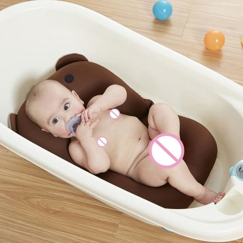 Portable Air Cushion Bed for Infant Bath - D - Baby Tubs