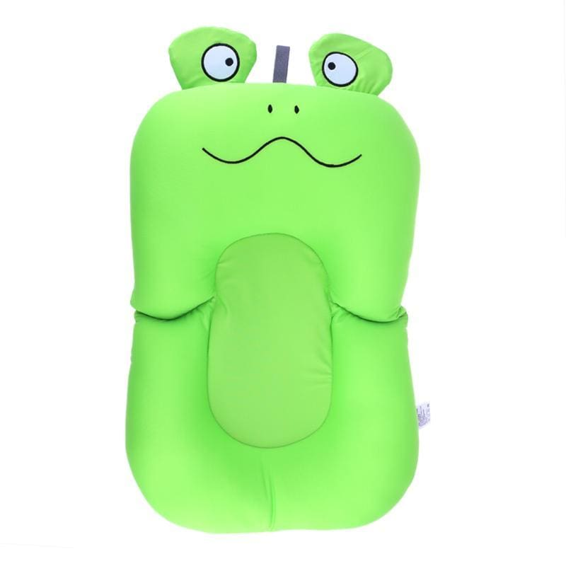 Portable Air Cushion Bed for Infant Bath - sad frog - Baby Tubs