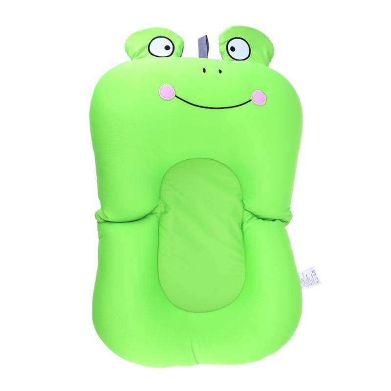 Portable Air Cushion Bed for Infant Bath - smile frog - Baby Tubs