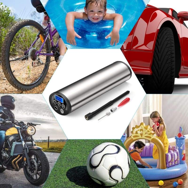 Portable Air Pump Just For You - with 3 charger - Out door Activity Cycle and Car