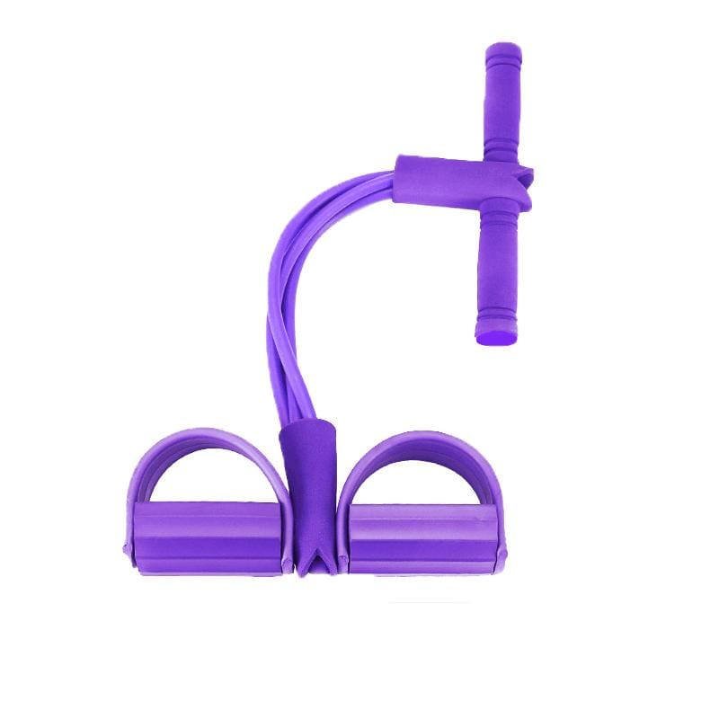 Pull Rope Expander Muscle Fitness - purple - Heath & Fitness1
