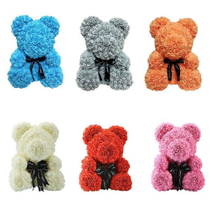 Rose Teddy Bear Just For You - Teddy Bear