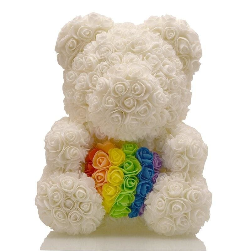 Rose Teddy Bear Rabbit Dog Panda Unicorn - 40cm Bear 1 - Teddy Bear