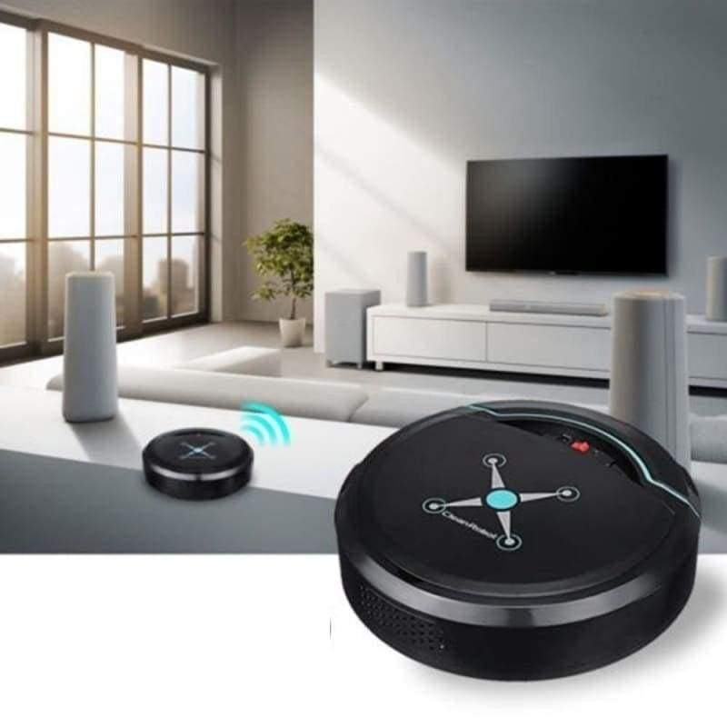 Smart Robot Vacuum Cleaner Just For You - Black - Vacuum Cleaner