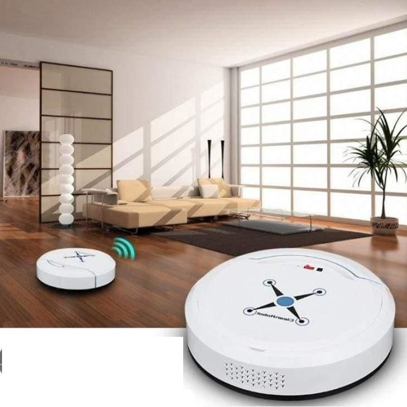 Smart Robot Vacuum Cleaner Just For You - White - Vacuum Cleaner