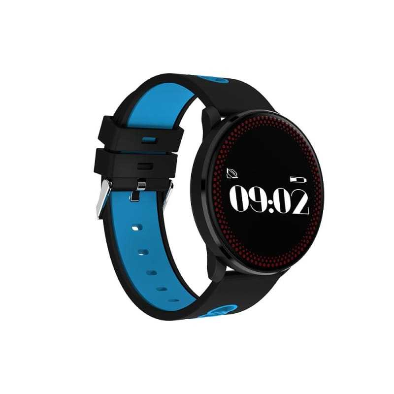 Smart Sport Watch - Black And Blue - Smart Wristbands