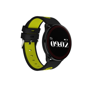 Smart Sport Watch - Yellow And Black - Smart Wristbands