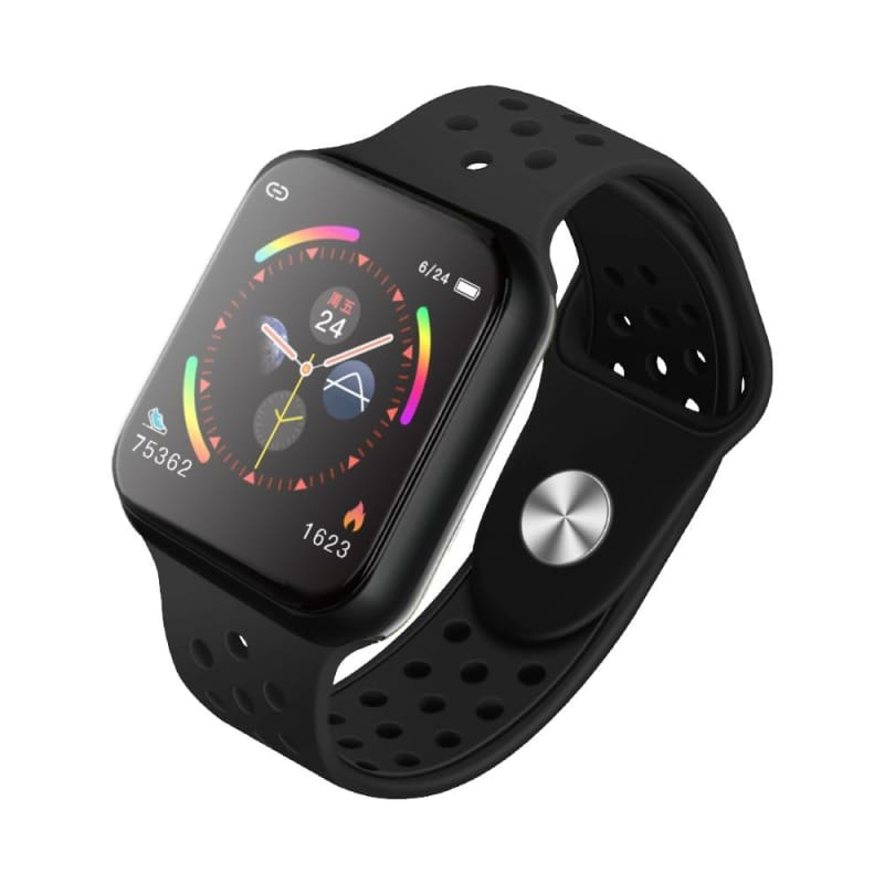 Smart Watch Fitness Tracker Heart Rate Monitor Bracelet - F9 black / with retail box - Smart Watches2