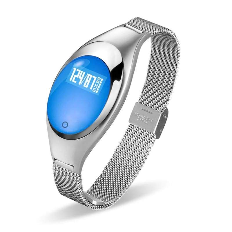 Smart watch fitness tracker - Silver - Smart Watches