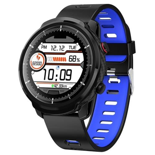 Smart Watch Waterproof Activity Tracker - silicone strap blue - Smart Watches1