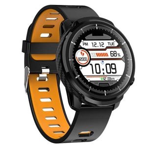 Smart Watch Waterproof Activity Tracker - silicone strap orang - Smart Watches1