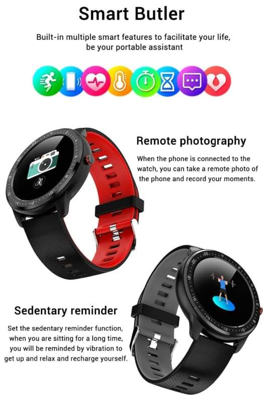 Smartwatch Fitness Tracker Just For You - Smart Watches1