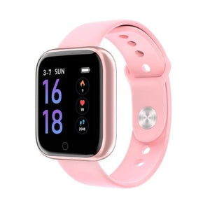 Smartwatch Waterproof Smart Watch Fitness Tracker Just For You - Silica Gel Pink / with box - Smart Watches2