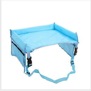 Snack & Play Travel Tray Just For You - Blue - Booster Seats