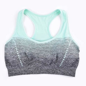 Sports Bra High Stretch Breathable - Green / L / 30 - Sports Bras