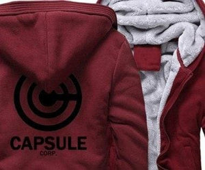 Sportswear hoodies Just For You - red black / S - Jackets
