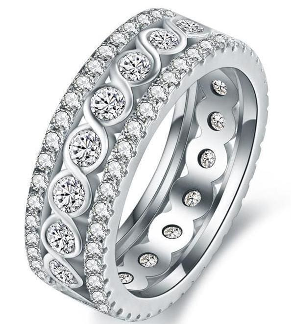 Stunning Eternity Ring - Engagement Rings