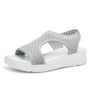 Super Best Breathable Sandals - Gray / 5.5 - Low Heels