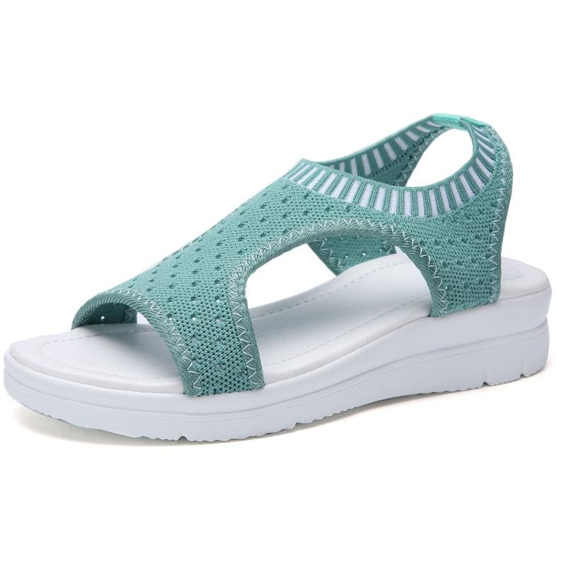 Super Best Breathable Sandals - Green / 5.5 - Low Heels