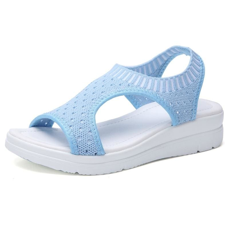 Super Best Breathable Sandals - Sky blue / 5.5 - Low Heels