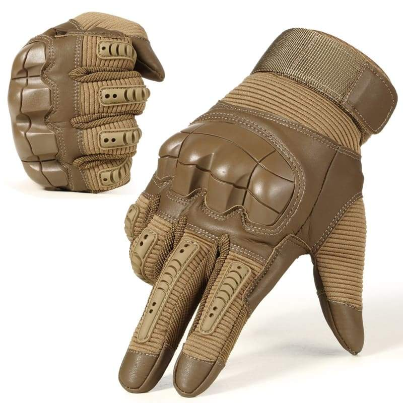 Tactical Gloves Just For You - Brown / L - Mens Gloves