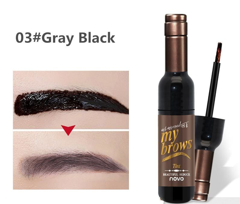 Tattoo Brow Gel Tint Just For You - 03gray black - Eyebrow Enhancers