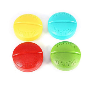 Travel Pill Box Organizer - Blue - Pill Cases & Splitters