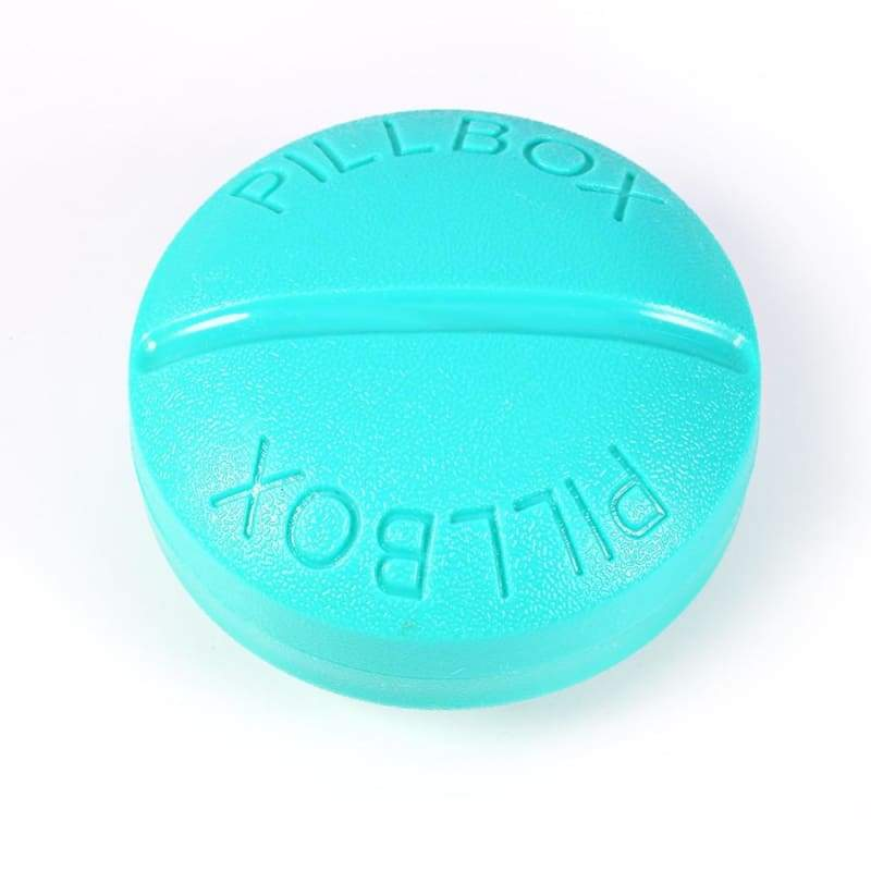 Travel Pill Box Organizer - Pill Cases & Splitters