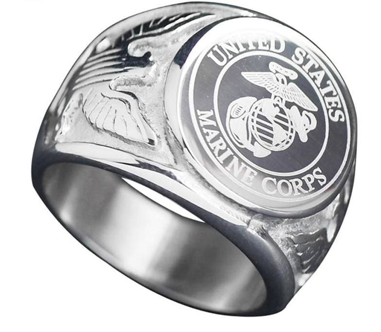 US Army/Navy/Police/Air Force/Fire Dept/Marines ring - Rings