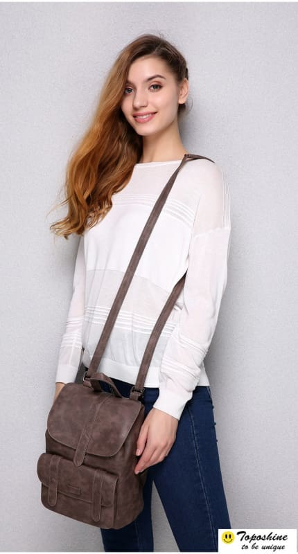 Vintage Women Backpacks - Backpacks