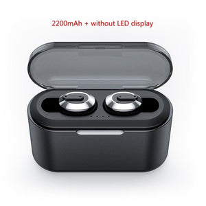 Wireless Bluetooth Earbuds - No LED display - Earbuds