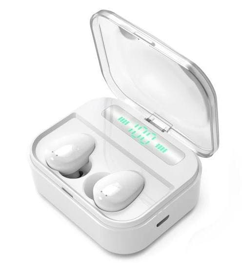 Wireless Bluetooth Earbuds - White - Earbuds