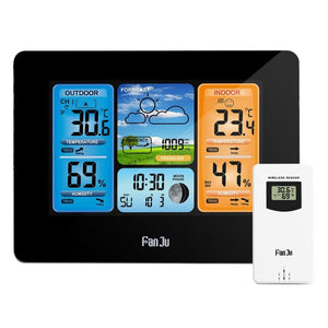 Wireless Home Weather Station Just For You - Black - Wireless Home Weather Station