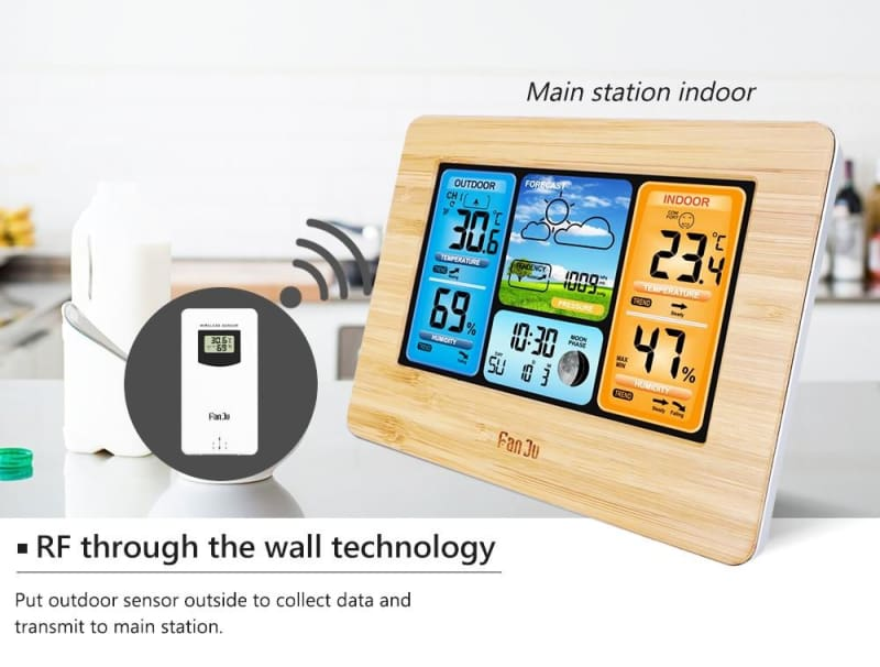 Wireless Home Weather Station Just For You - Wireless Home Weather Station