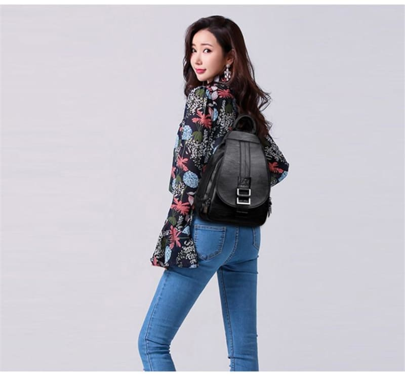 Women Leather Backpacks Just For You - Backpacks