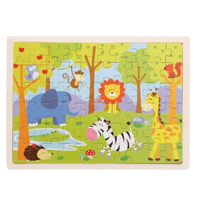Wooden Jigsaw Puzzle - 1960337 - Puzzles