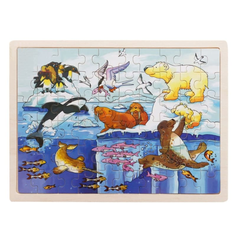 Wooden Jigsaw Puzzle - 1960339 - Puzzles