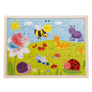 Wooden Jigsaw Puzzle - 1960340 - Puzzles