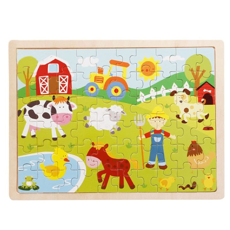 Wooden Jigsaw Puzzle - 1960342 - Puzzles
