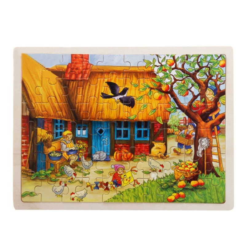 Wooden Jigsaw Puzzle - 1960343 - Puzzles