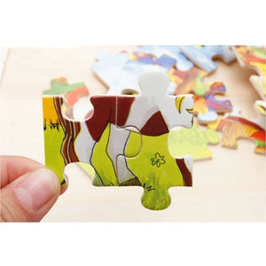 Wooden Jigsaw Puzzle - Puzzles