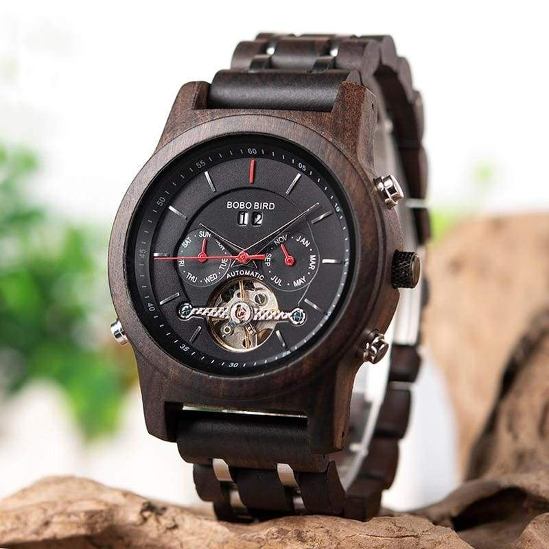 Wooden Mechanical Watches For Men and Women - Watches