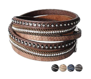 Wrap Leather Bracelet - Wrap Bracelets