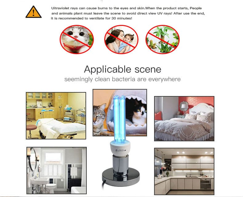 Ultraviolet Sterilizer Home Lamp Just For You