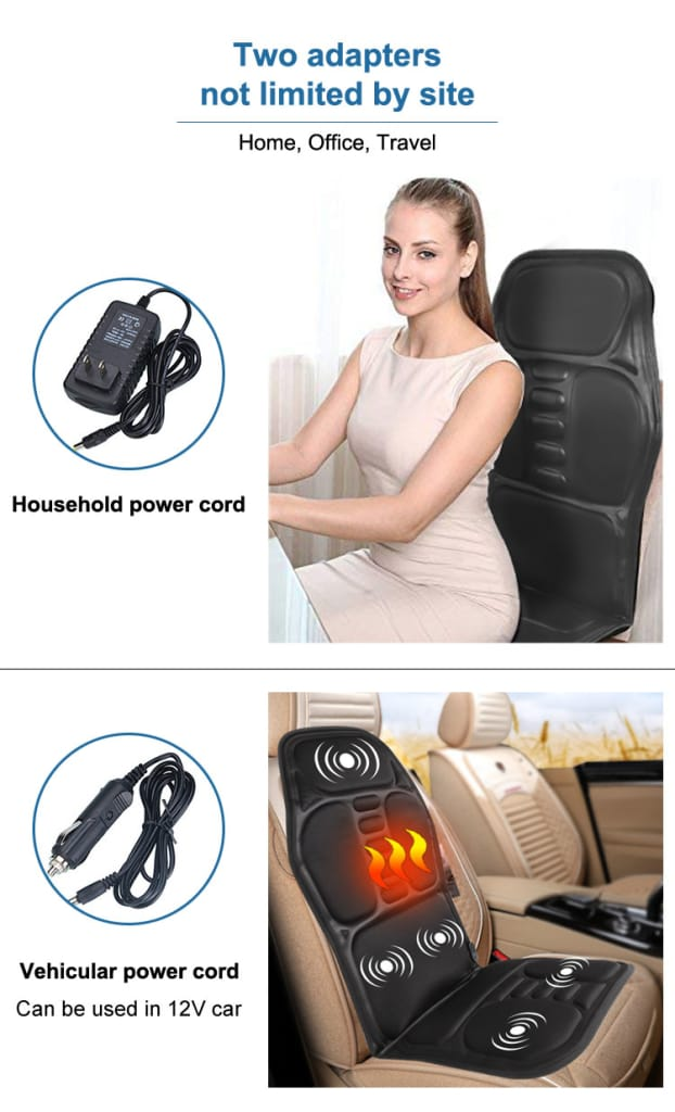 Back Massager Chair Cushion Vibrator Just For You